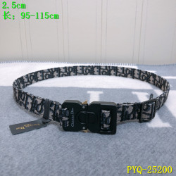 Dior AAA+ 2019 Leather belts 2.5CM #9124127