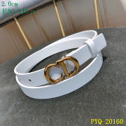Dior AAA+ 2019 Leather belts 2CM #9124113