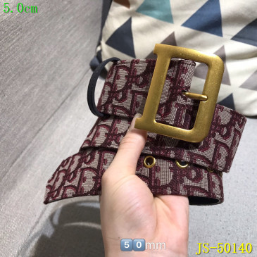 Dior AAA+ 2019 Leather belts 5CM #9124216