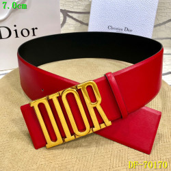 Dior AAA+ 2019 Leather belts 7CM #9124213