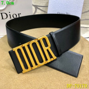 Dior AAA+ 2019 Leather belts 7CM #9124215