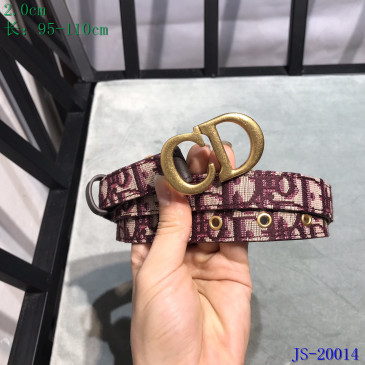 Dior AAA+ Leather belts #9129357