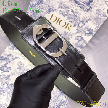 Dior AAA+ original Leather belts for women #9129358