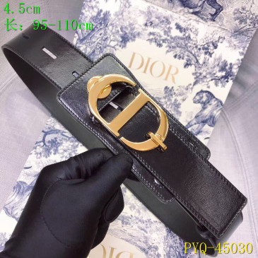 Dior AAA+ original Leather belts for women #9129359