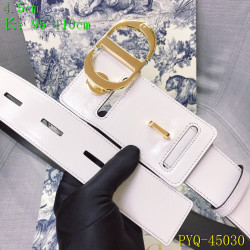 Dior AAA+ original Leather belts for women #9129361