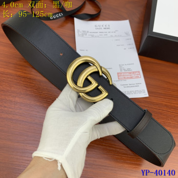 Gucci AAA+ Leather Belts W4cm #9129916