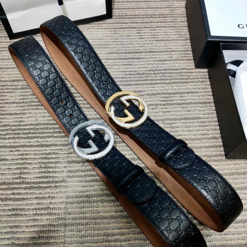 Gucci AAA+ Leather Belts W4cm #9129918