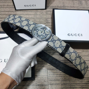 Gucci AAA+ Leather Belts W4cm #9129922