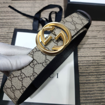 Gucci AAA+ Leather Belts W4cm #9129923