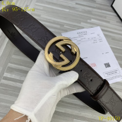 Gucci AAA+ Leather Belts for Men W4cm #9129895
