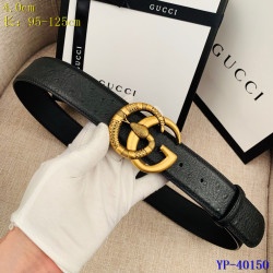 Gucci AAA+ Leather Belts for Men W4cm #9129897