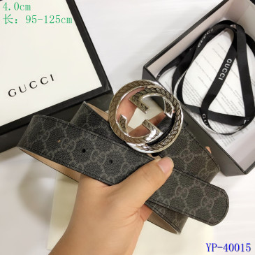 Gucci AAA+ Leather Belts for Men W4cm #9129899