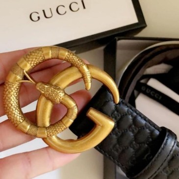 Gucci AAA+ leather Belts for Men #9130734