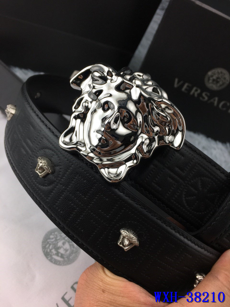 Versace AAA+ top layer leather Belts #9117518