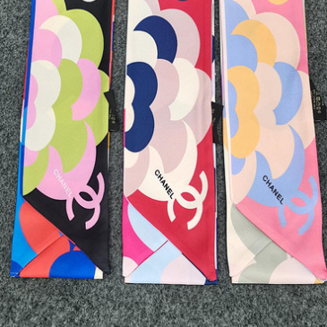 Chanel Scarf Small scarf decorate the bag scarf strap #999914387