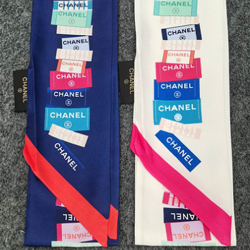 Chanel Scarf Small scarf decorate the bag scarf strap #999914391