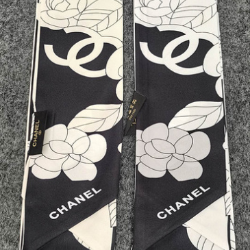 Chanel Scarf Small scarf decorate the bag scarf strap #999914392