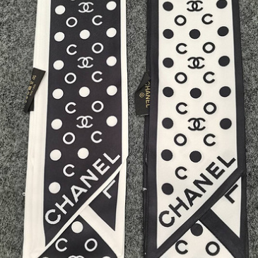 Chanel Scarf Small scarf decorate the bag scarf strap #999914394