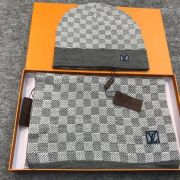 Louis Vuitton Wool knitted Scarf and cap 185*35cm #9108732