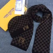 Louis Vuitton Wool knitted Scarf and cap 185*35cm #9108736