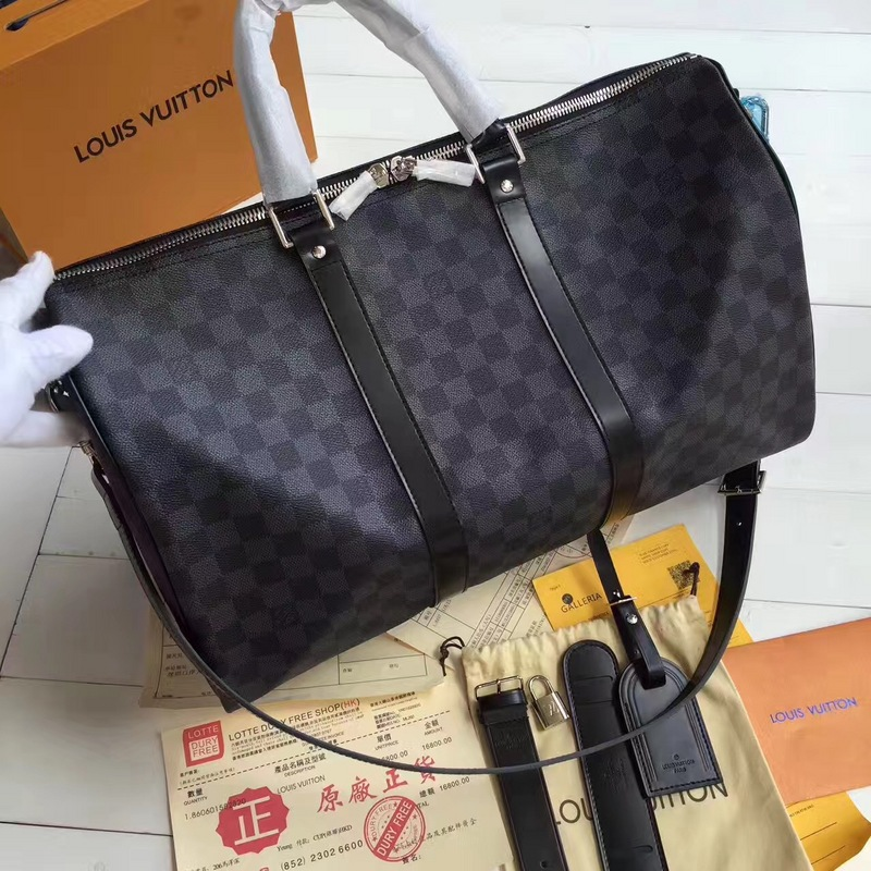 Louis Vuitton Keepall Monogram Travel bag AAA quality #9100087