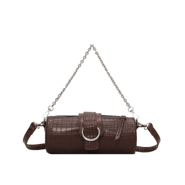French Style Chain Alligator Print Shoulder Bags