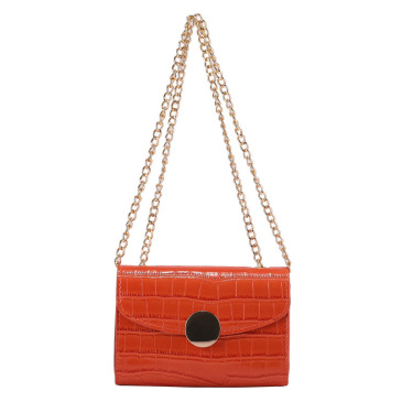 New Chain Stone Pattern Shoulder Bags
