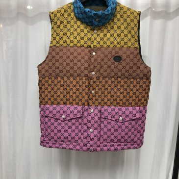 Brand G Down cotton vest Jackets for men and women #999909557