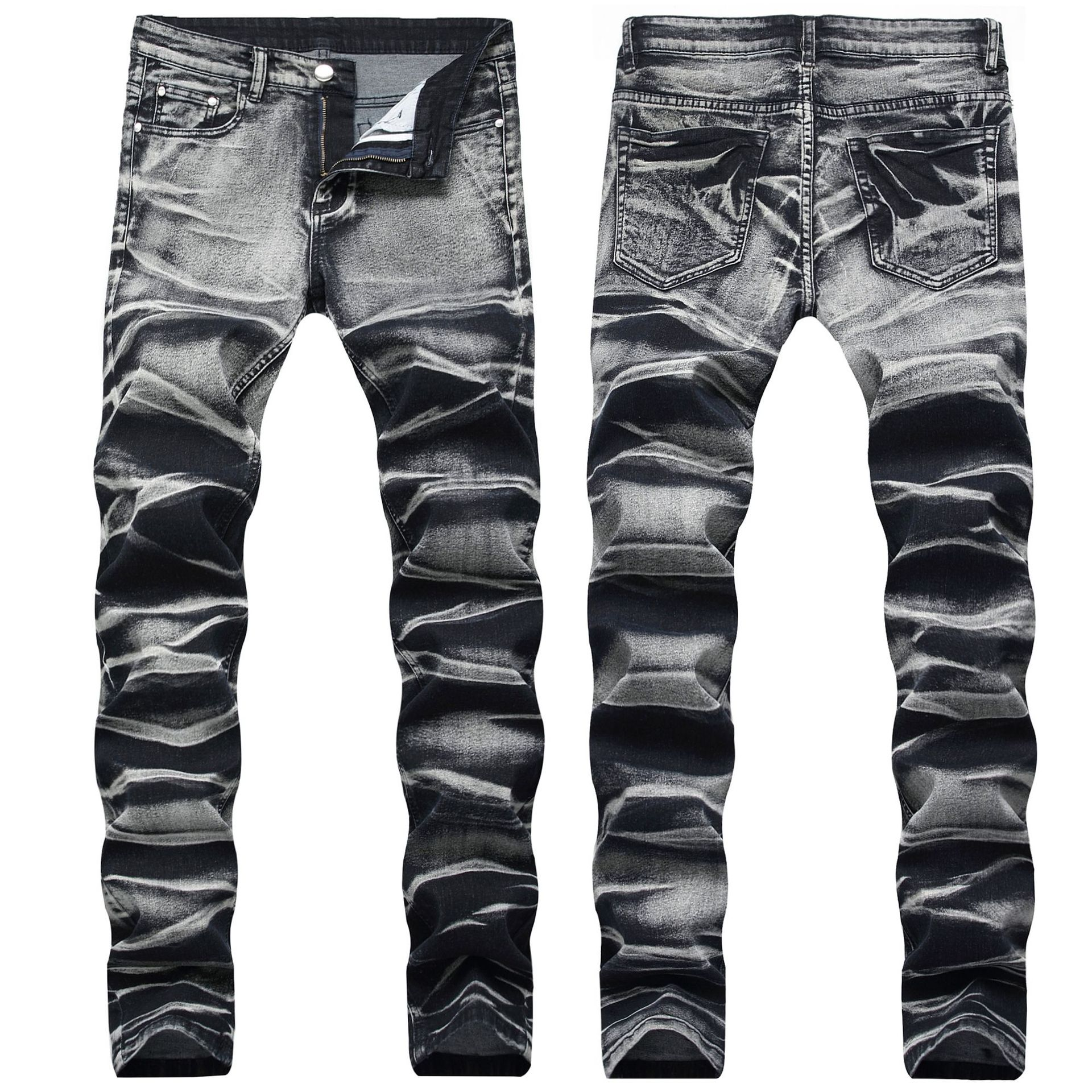 BALMAIN Men's pleated jeans for cheap #9120592