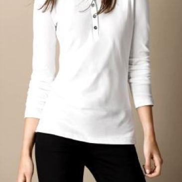 Burberry Long-Sleeved T-Shirts for Women #9105343