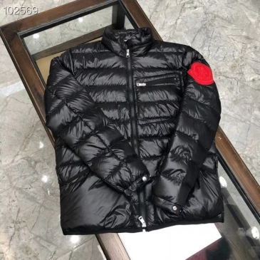 Moncler Coats White goose down filling Soft fabric #99899715