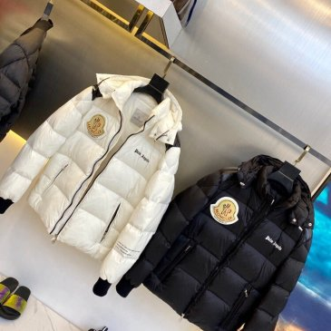 Moncler & Palm Angels 2020SS Winter down jacket down Coat for Men 1:1 high quality White/Black #99899362