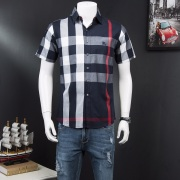 Burberry AAA+ Shorts-Sleeved Shirts for men #818012