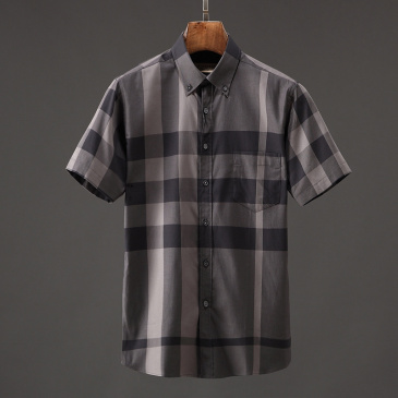 Burberry AAAA Original quality Shorts-Sleeved Shirts for men #9125027