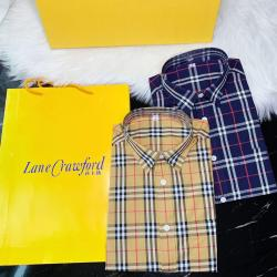 Burberry Shirts for Burberry AAA+ Shorts-Sleeved Shirts for men #9123248
