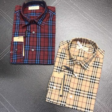 Burberry Shirts for Burberry AAA+ Shorts-Sleeved Shirts for men #999902361