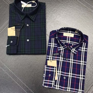 Burberry Shirts for Burberry AAA+ Shorts-Sleeved Shirts for men #999902362