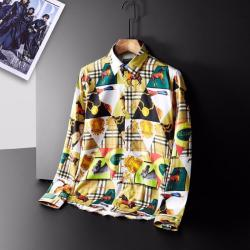 Burberry Shirts for Burberry Men's AAA+ Burberry Long-Sleeved Shirts #9126614