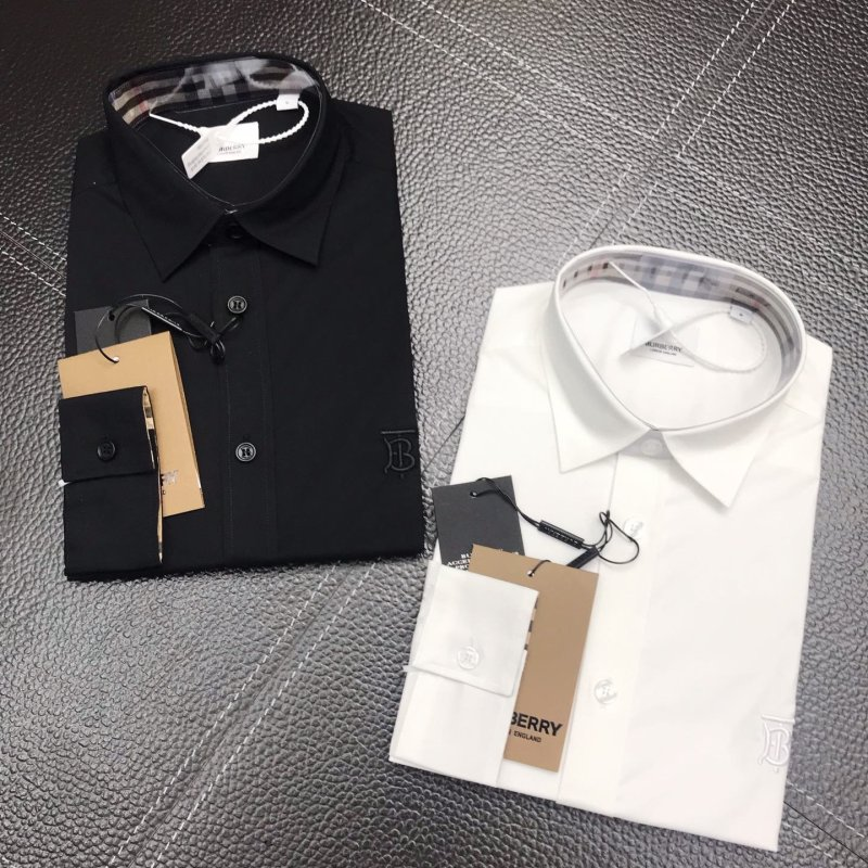 Burberry Shirts for Burberry Men's AAA+ Burberry Long-Sleeved Shirts #99902073
