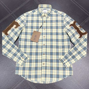 Burberry Shirts for Burberry Men's AAA+ Burberry Long-Sleeved Shirts #999915182