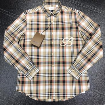 Burberry Shirts for Burberry Men's AAA+ Burberry Long-Sleeved Shirts #999915184