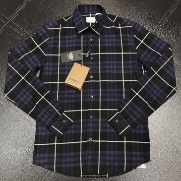 Burberry Shirts for Burberry Men's AAA+ Burberry Long-Sleeved Shirts #999915185