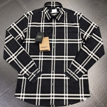 Burberry Shirts for Burberry Men's AAA+ Burberry Long-Sleeved Shirts #999915186