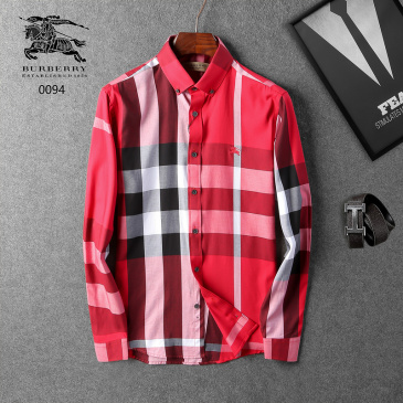 Burberry Shirts for Men's Burberry Long-Sleeved Shirts #9110264