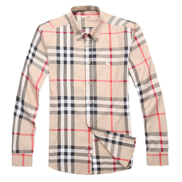 Burberry Shirts for Men's Burberry Long-Sleeved Shirts #996513