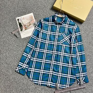 Burberry Shirts for Men's Burberry Long-Sleeved Shirts #999901817
