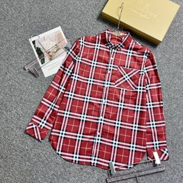 Burberry Shirts for Men's Burberry Long-Sleeved Shirts #999901818