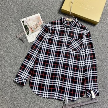 Burberry Shirts for Men's Burberry Long-Sleeved Shirts #999901819