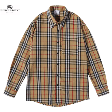 Burberry Shirts for Men's Burberry Long-Sleeved Shirts #999902148