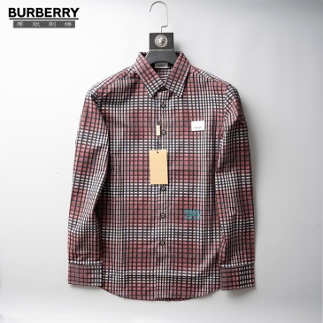 Burberry Shirts for Men's Burberry Long-Sleeved Shirts #999914539